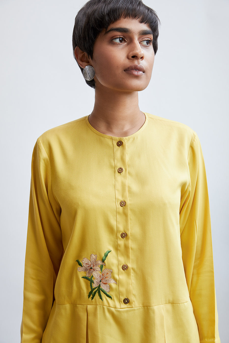 Sunny orchird tencel top - Ethical made fashion - onlyethikal