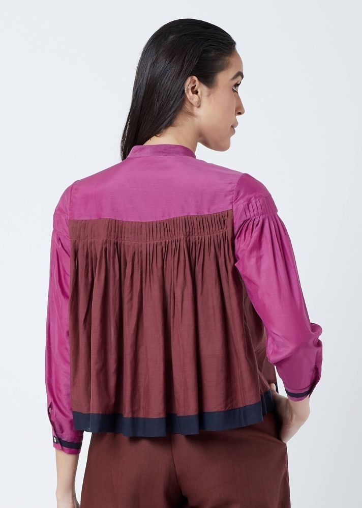 Skye Pleated Top - onlyethikal