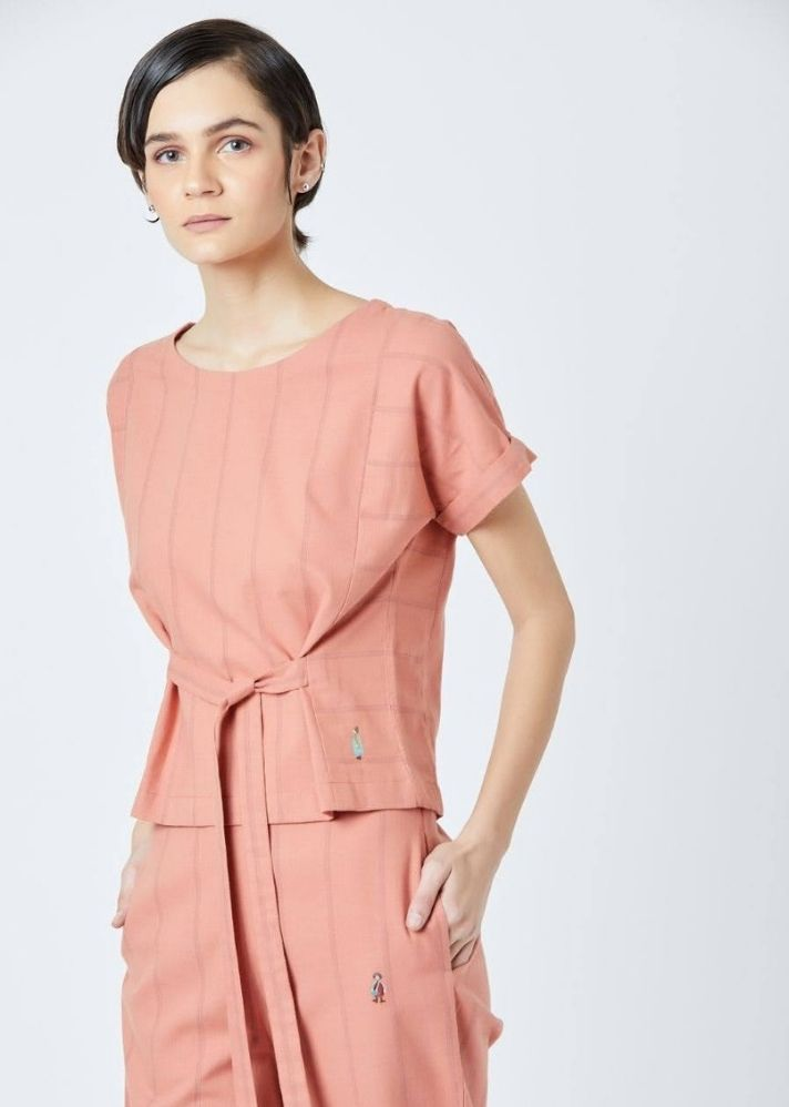 Fildes Orange Top - onlyethikal