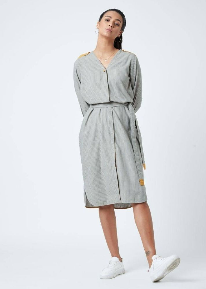 Marie Grey Tunic - Ethical made fashion - onlyethikal