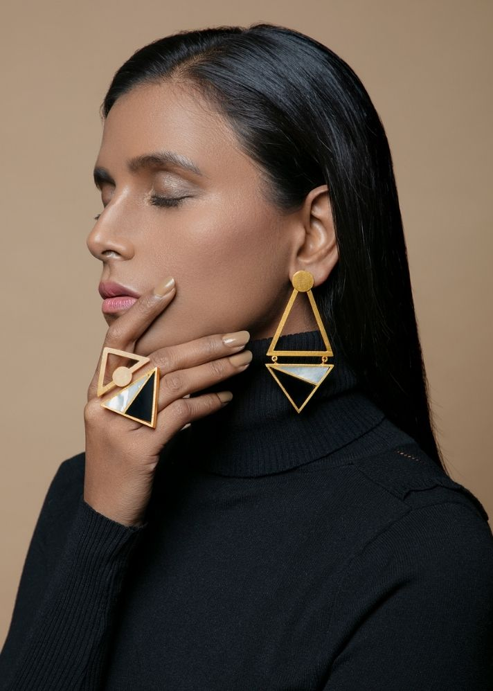Contessa Earring - Ethical made fashion - onlyethikal