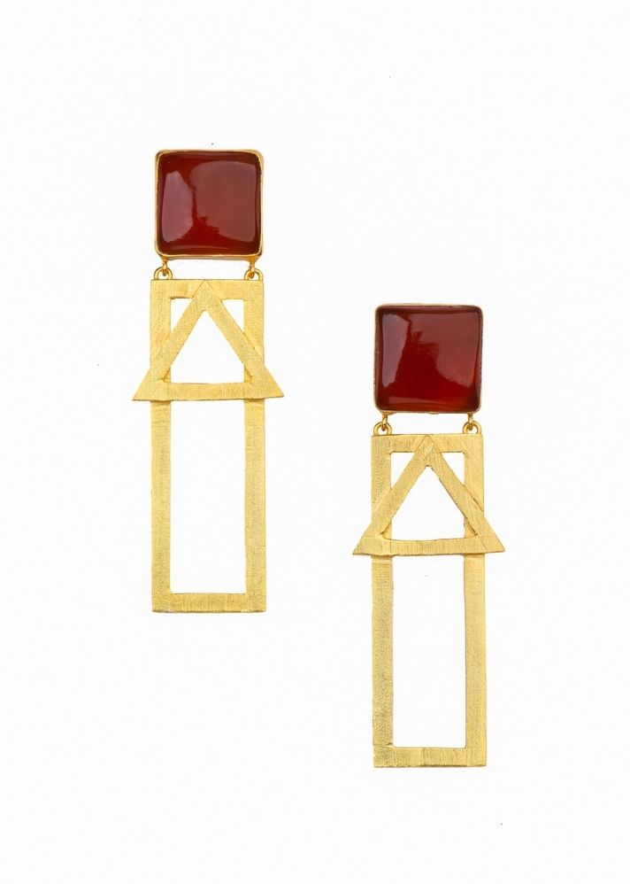 Marquise Earring - Ethical made fashion - onlyethikal
