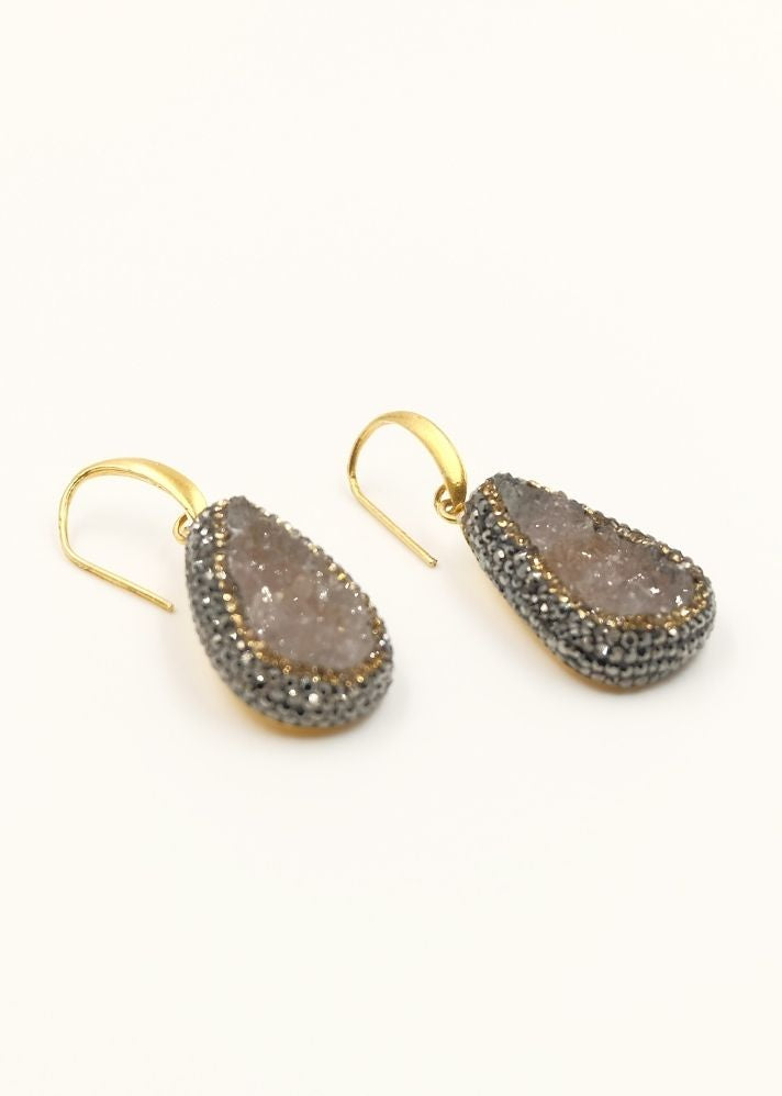 Lavanta Earrings - Ethical made fashion - onlyethikal