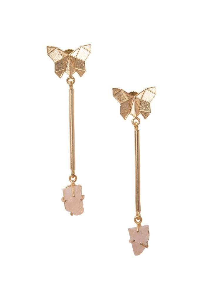 Butterfly Danglers - Ethical made fashion - onlyethikal