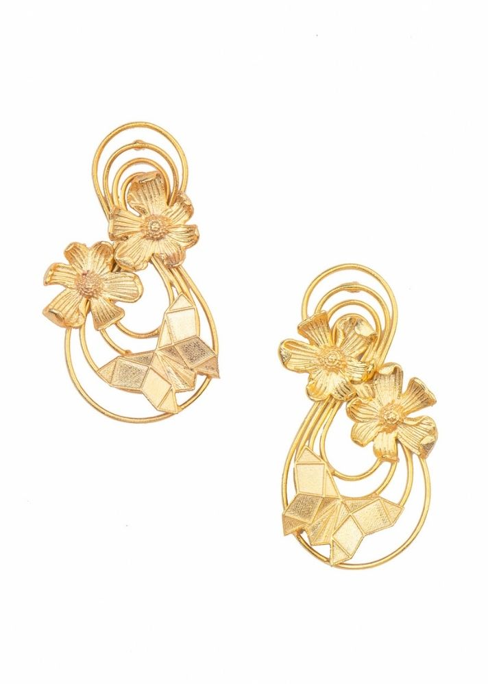 Floral Bloom Earrings - Ethical made fashion - onlyethikal