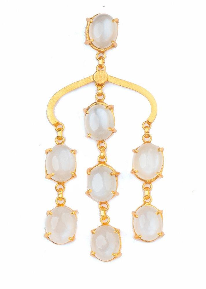 Ivory Drops Earrings - Ethical made fashion - onlyethikal