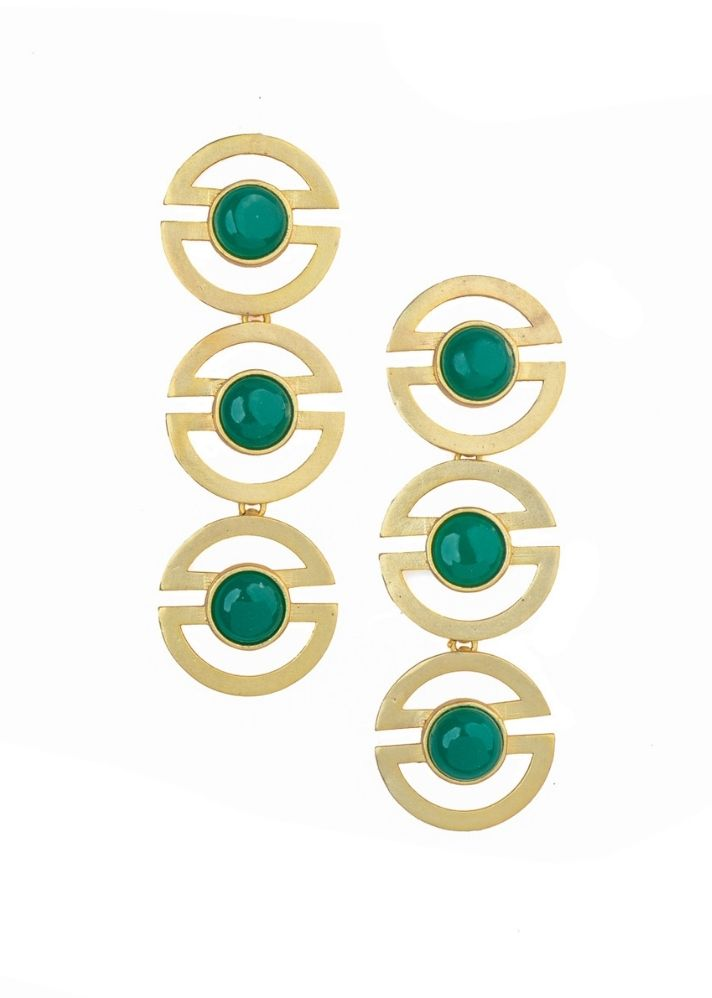 Go Green Earrings - Ethical made fashion - onlyethikal