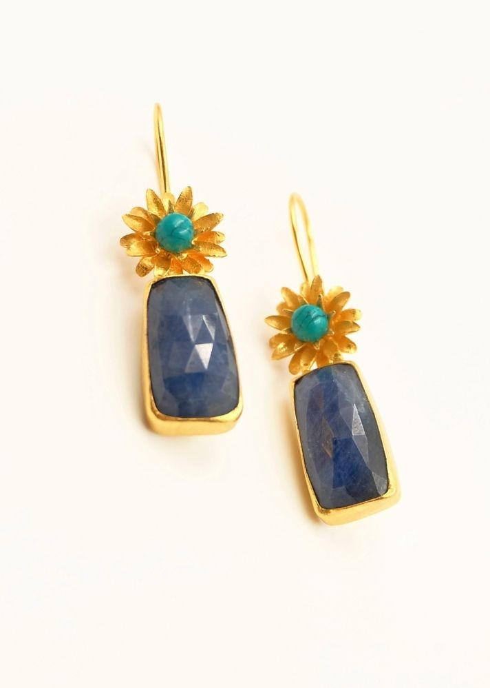 Lapis Drops - Ethical made fashion - onlyethikal