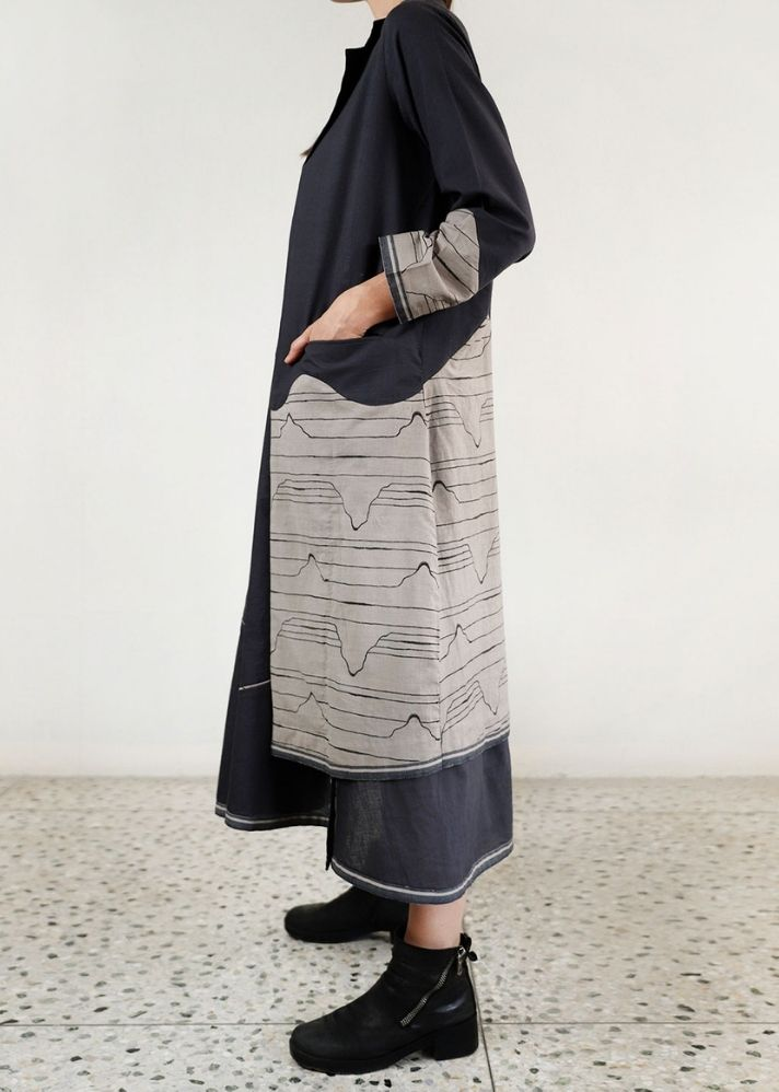 Relaxed Waves Jacket and Maxi Co-ord - onlyethikal