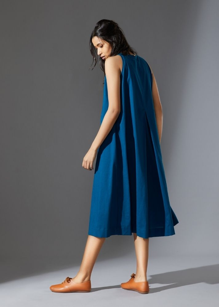Vita Aakaar - Blue - Ethical made fashion - onlyethikal