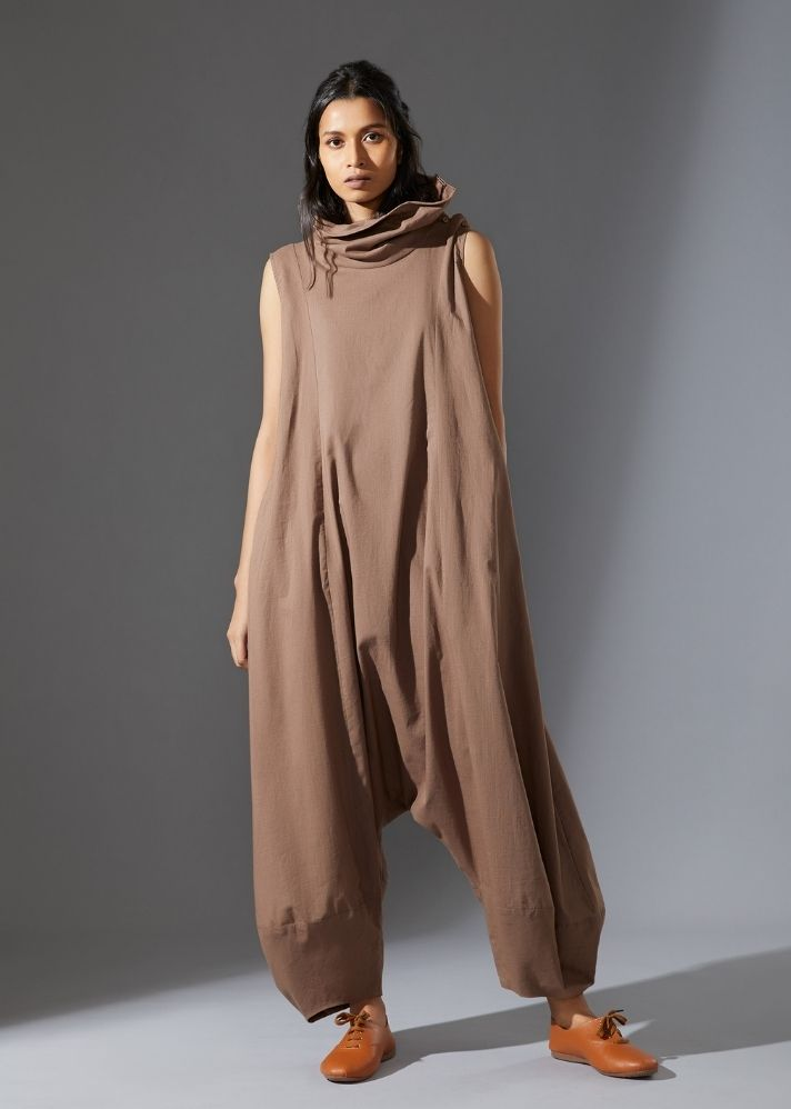 Suga Jumpsuit -  Beige - Ethical made fashion - onlyethikal