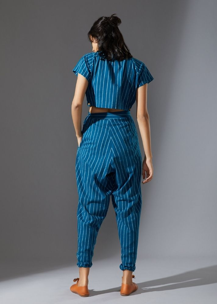 Aboli Stoka Set - Blue - Ethical made fashion - onlyethikal