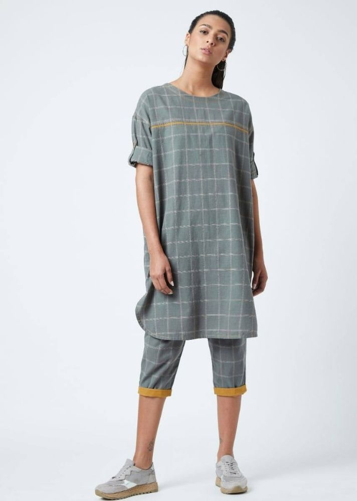 Amy Grey Set - Ethical made fashion - onlyethikal