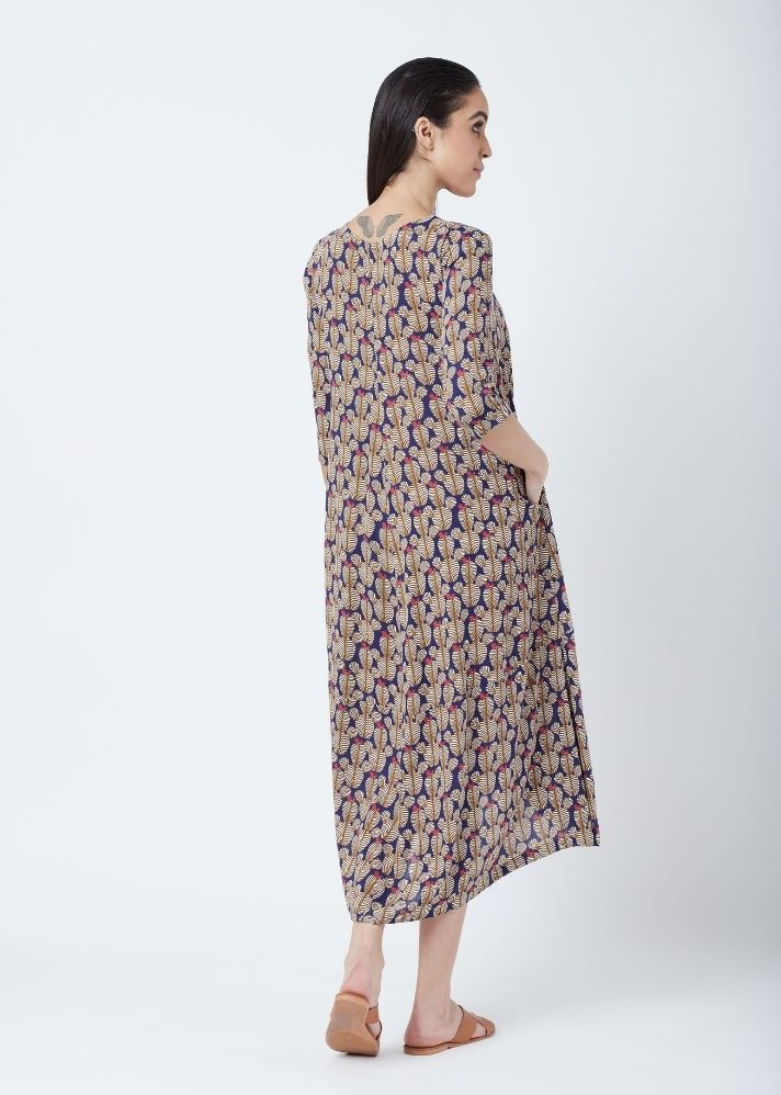 Printed Flared Dress - onlyethikal