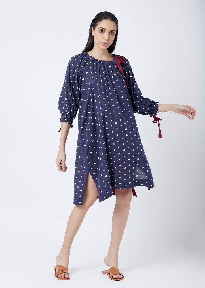 Kelly Dotted Dress - onlyethikal