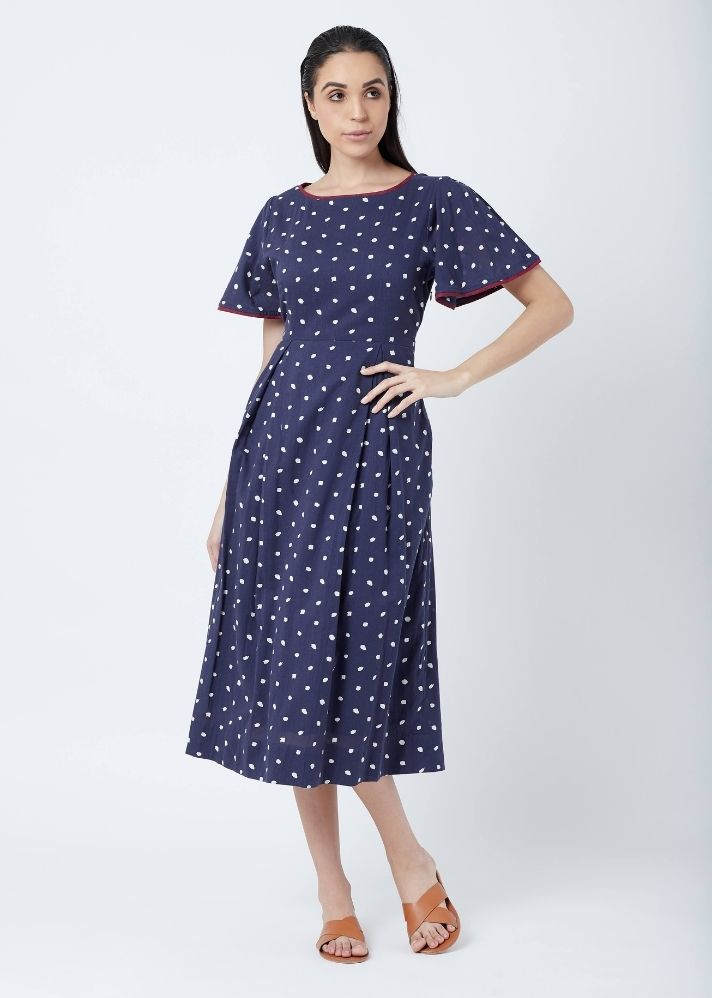 Isla Dotted Dress - onlyethikal