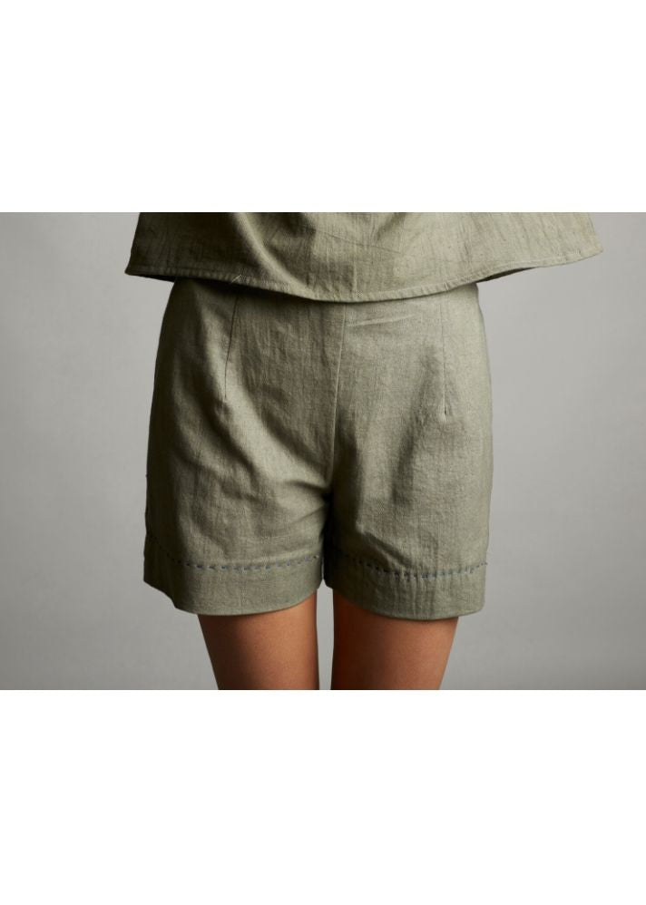Organic Cotton Shorts - Ethical made fashion - onlyethikal