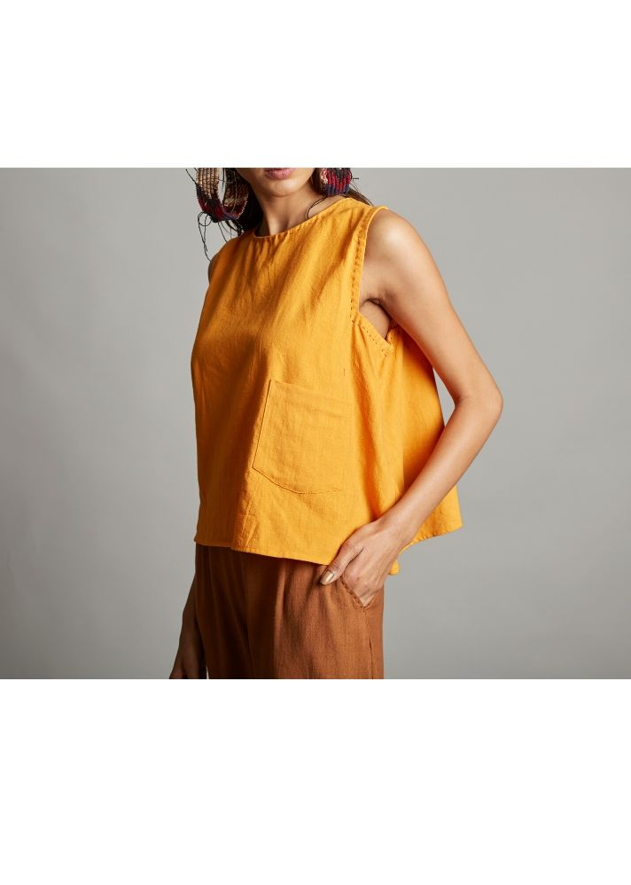 Organic Cotton Trapeze Top - Ethical made fashion - onlyethikal