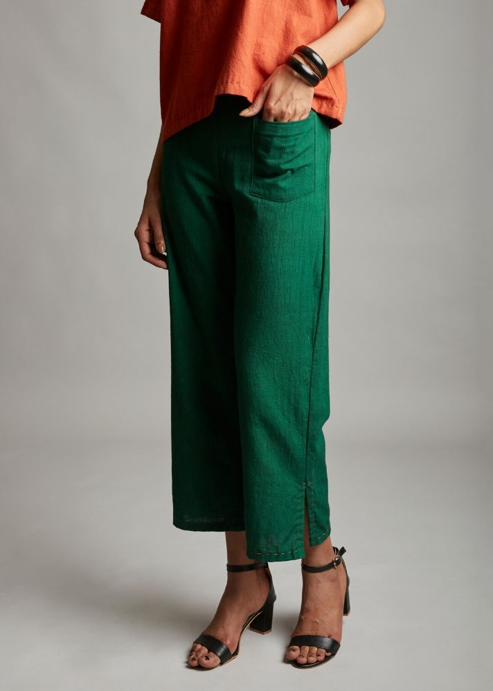 Organic Cotton Comfy Trousers - Ethical made fashion - onlyethikal