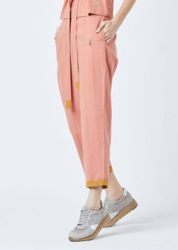 Fildes Orange Pants - Ethical made fashion - onlyethikal