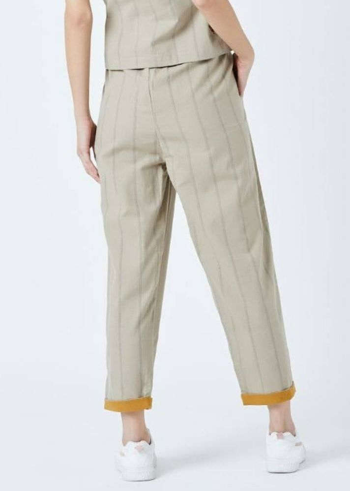 Fildes Beige Pants - Ethical made fashion - onlyethikal