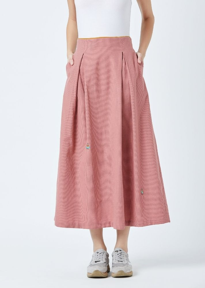 Davis Pleated Skirt - Ethical made fashion - onlyethikal