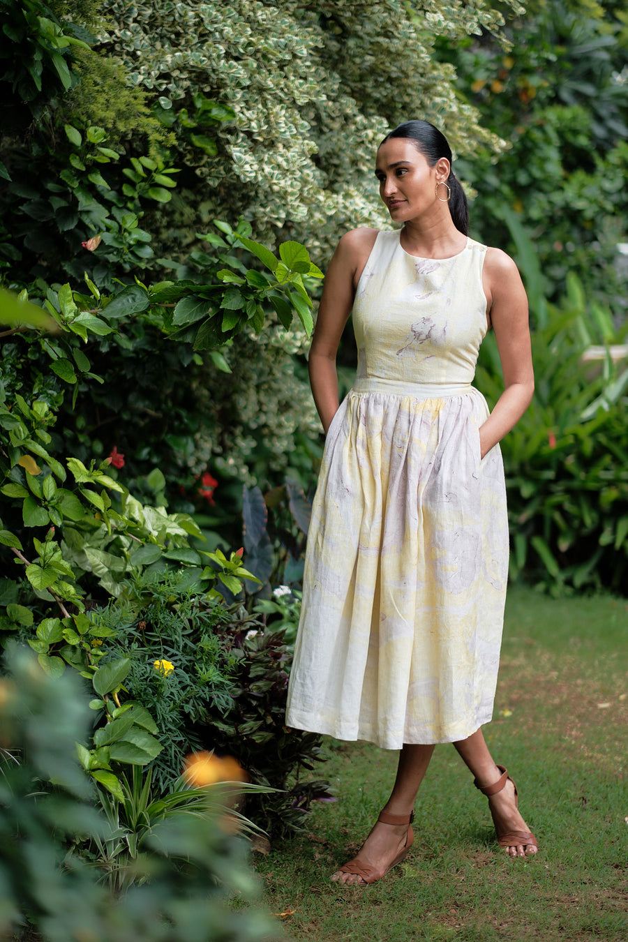 Wilden Linen Dress - Ethical made fashion - onlyethikal