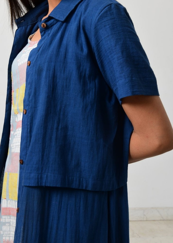 Back open jacket set - Ethical made fashion - onlyethikal