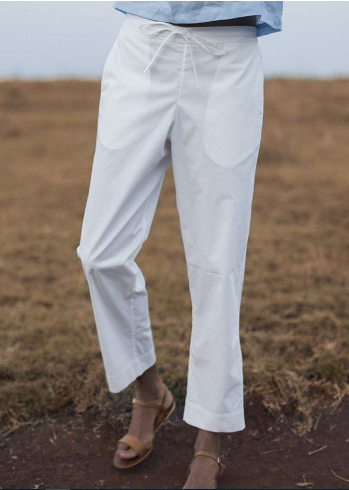 Casual White Pants - onlyethikal