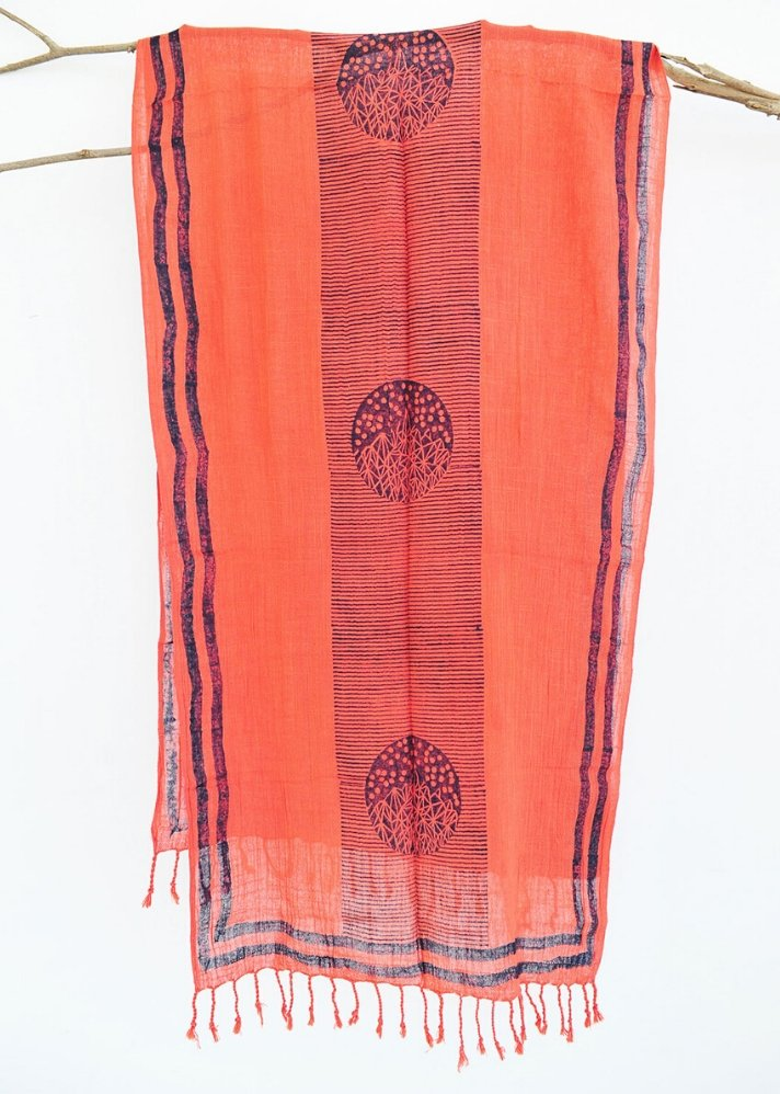 Coral Hill Scarf - Ethical made fashion - onlyethikal
