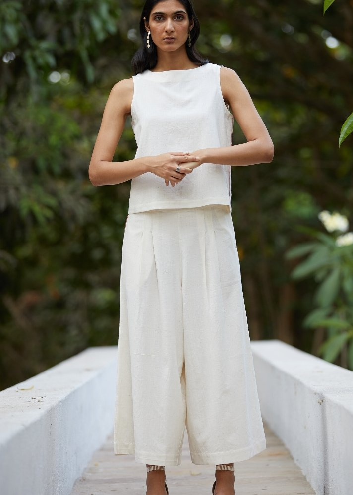 Cotton Flare Pants and Top Set - onlyethikal