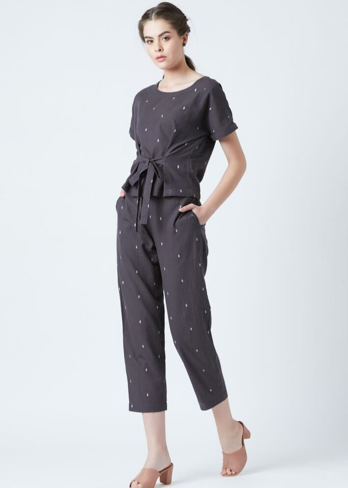 Easy fit elasticated pants - Ethical made fashion - onlyethikal