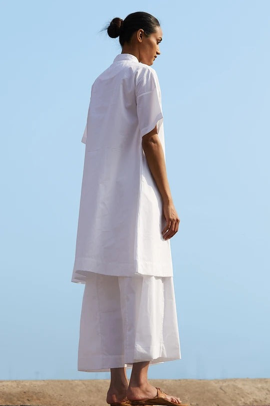 Frere White Tunic & Pants Set - Ethical made fashion - onlyethikal