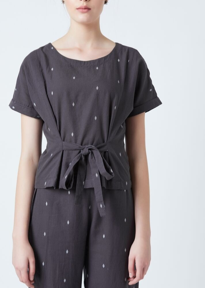 Ready to ship! Front knot top - Ethical made fashion - onlyethikal