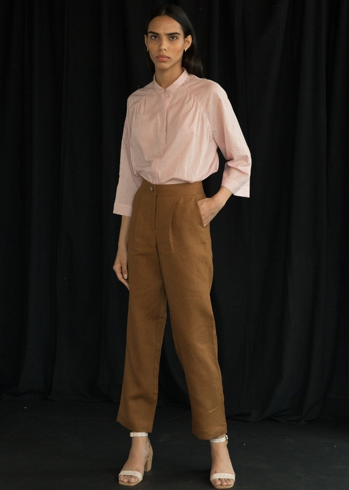 High Rise pants - Ethical made fashion - onlyethikal