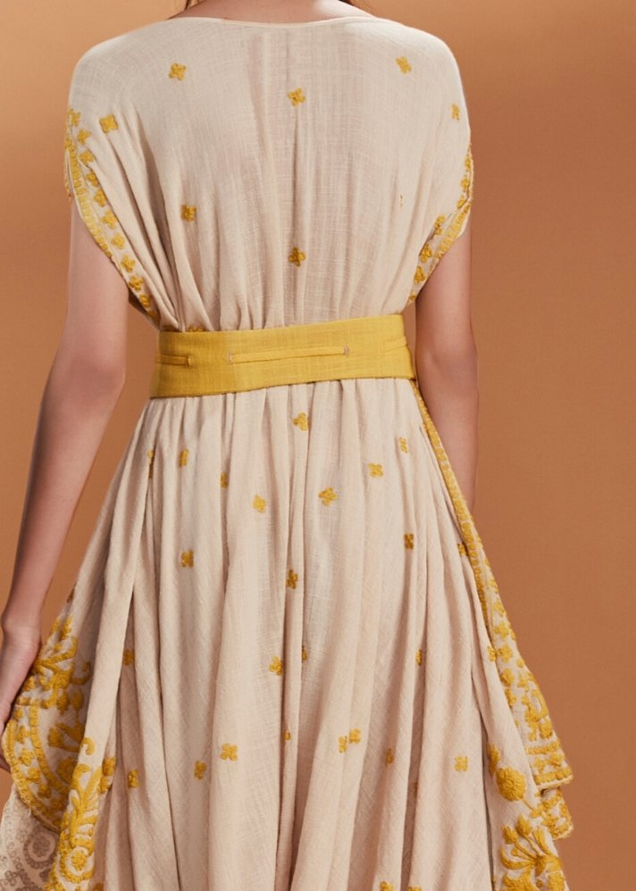 High waist belt - Yellow - onlyethikal