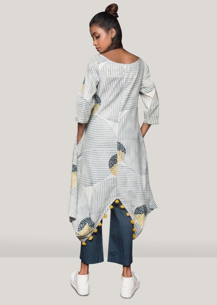 Hill moon tunic with pants - Ethical made fashion - onlyethikal