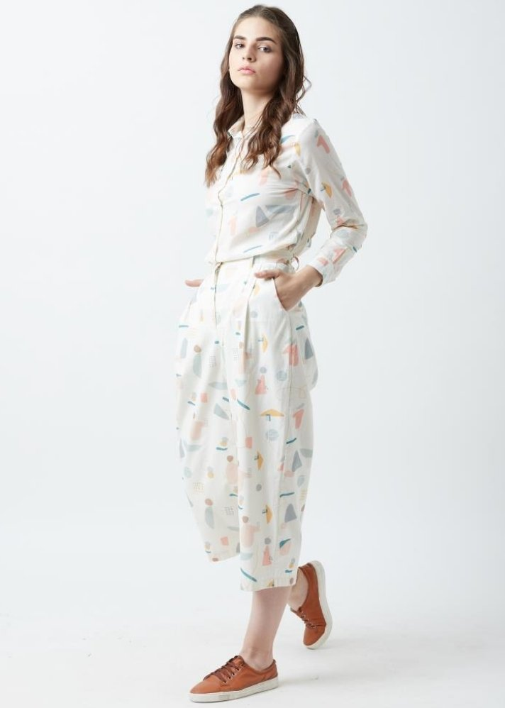 Human print pant and shirt set - onlyethikal