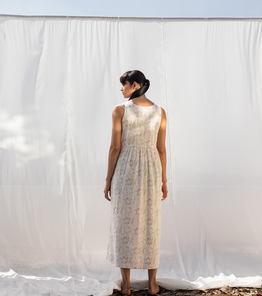 Salt of Earth Midi Dress - Ethical made fashion - onlyethikal