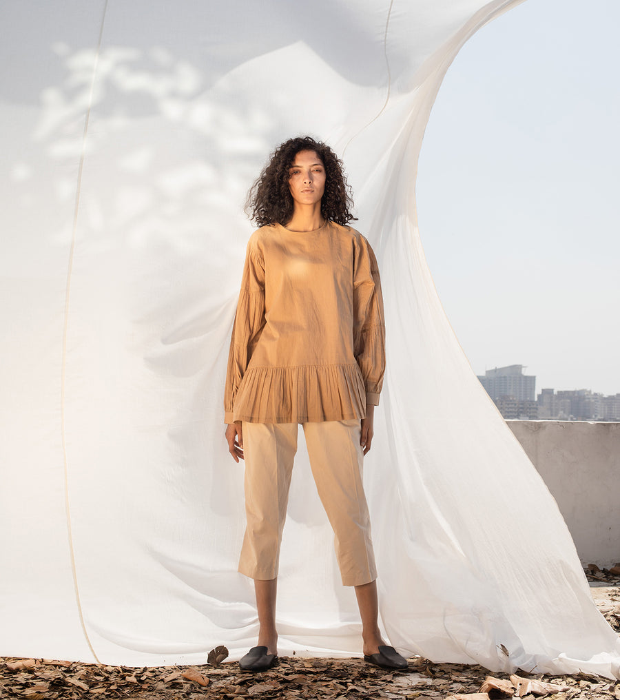 Stone's Throw Anti-fit Top - Ethical made fashion - onlyethikal