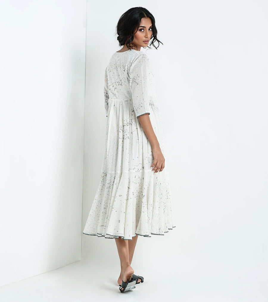 Art of Today White Dress - Ethical made fashion - onlyethikal