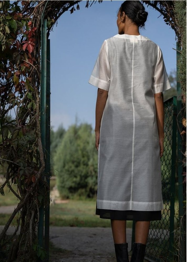 Layered Tunic Dress - Ethical made fashion - onlyethikal