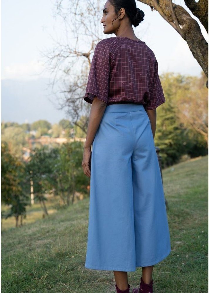 Lush Flare Culottes - Ethical made fashion - onlyethikal