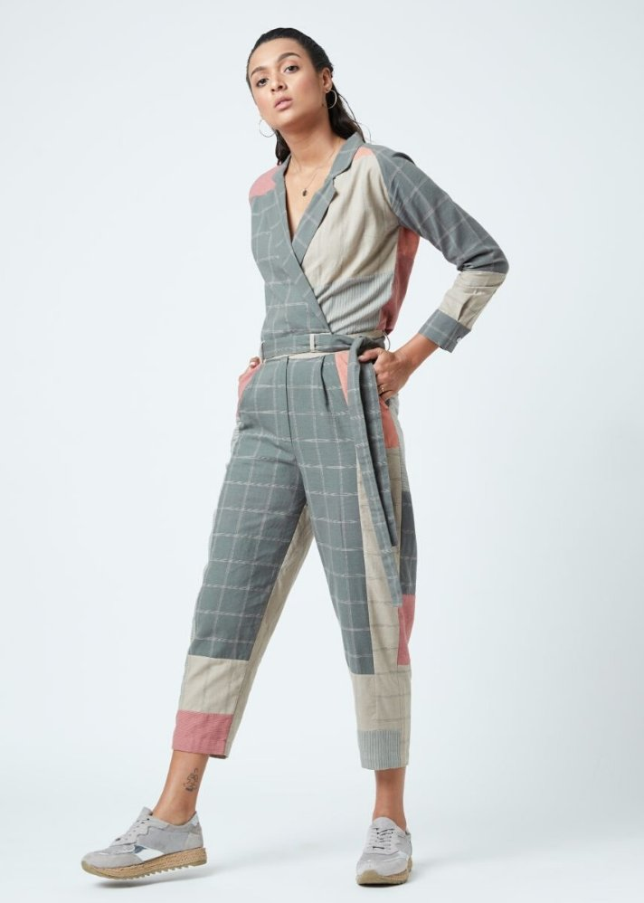 Multicolored Jumpsuit - Ethical made fashion - onlyethikal