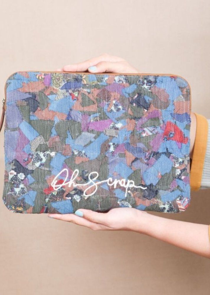 Oh scrap! laptop sleeve - Ethical made fashion - onlyethikal