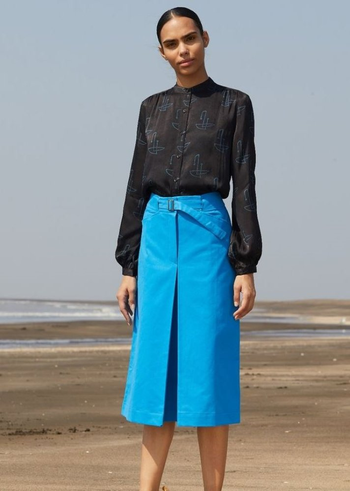 Origami Skirt - Ethical made fashion - onlyethikal