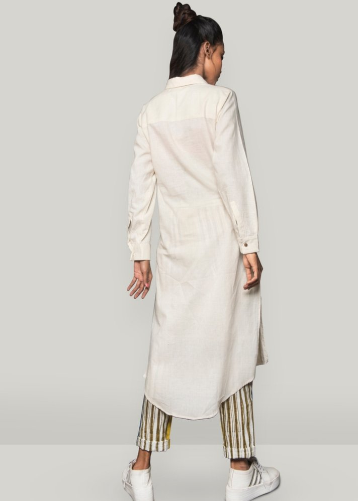 Shirt dress set with pants - Ethical made fashion - onlyethikal
