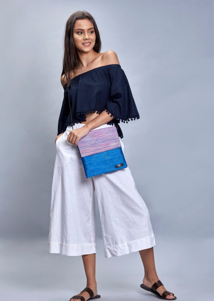Siriol Cross-Body - Ethical made fashion - onlyethikal