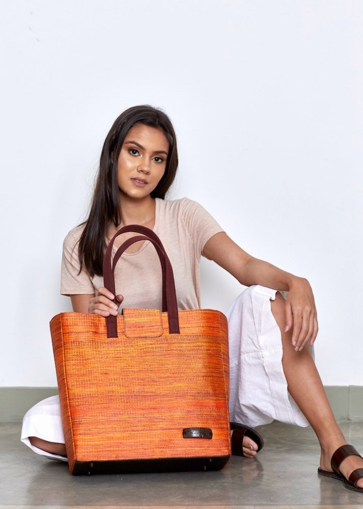 Sophie Tote bag - Ethical made fashion - onlyethikal