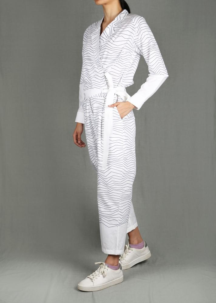 Striped Jumpsuit - Ethical made fashion - onlyethikal